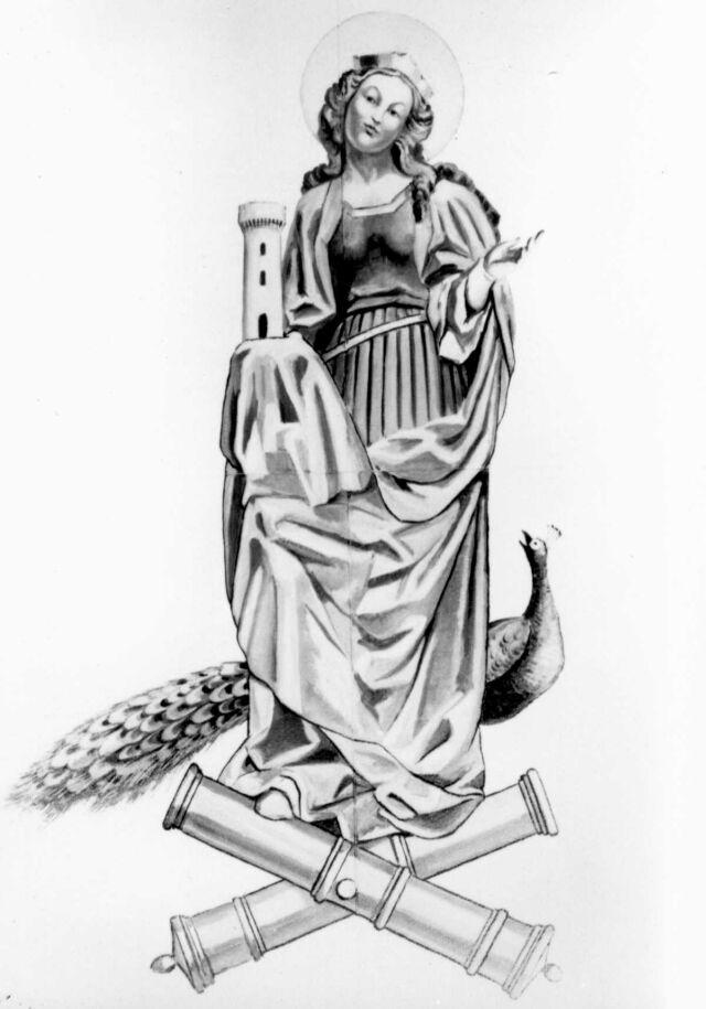 SANTA BARBARA, Patrona Celeste dell'Arma di Artiglieria